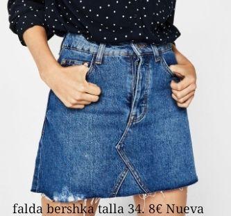 falda bershka