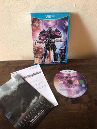 Juego Transformers: The Dark Spark para Wii U