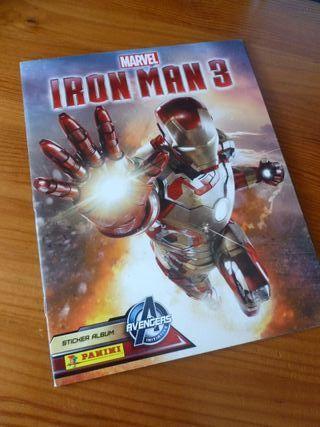 IRON MAN 3 album cromos panini marvel
