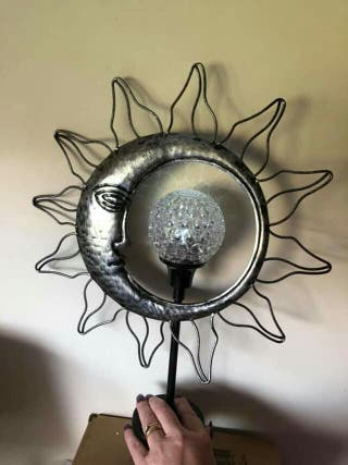 rotating solar light