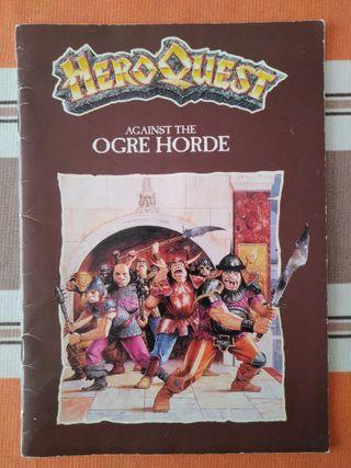 Heroquest Contra Horda de Ogros (libro en inglés)
