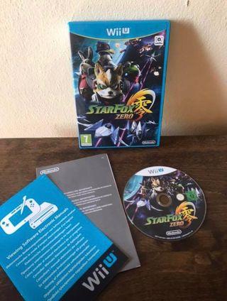 Juego StarFox Zero para Wii u
