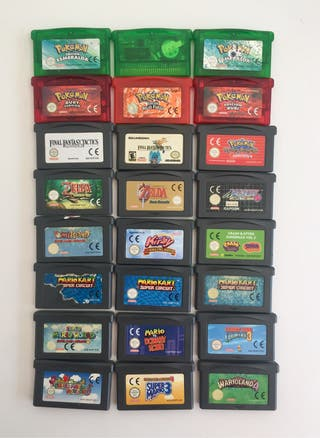 LOTE JUEGOS gameboy advance