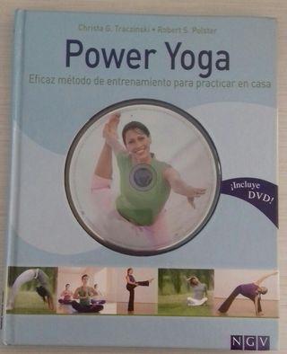 Libro Power Yoga + DVD