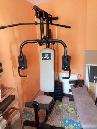 maquina de pesas multiejercicios