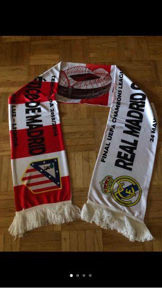 Bufanda La décima Real Madrid Atlético Champions