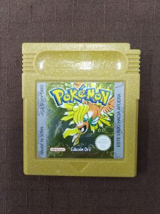 Pokemon ORO para gameboy
