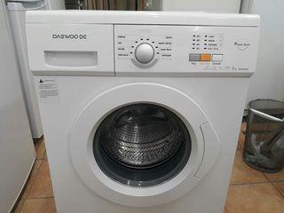 Lavadora marca Daewoo 6 kg 1000 rpm A+