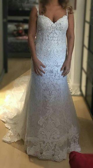 97e77c8cef Vestido de novia cortos de segunda mano en WALLAPOP