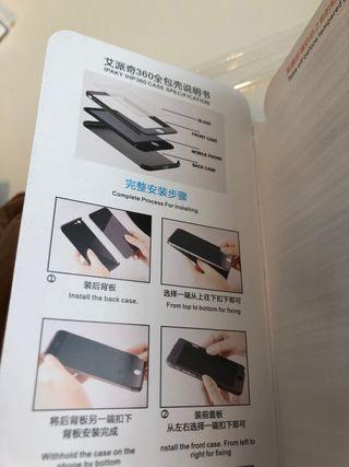 Funda iPhone 8 Plus completa