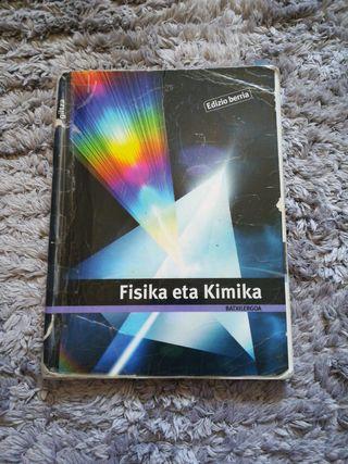 Fisika eta kimika libro