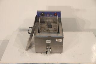 Freidora eléctrica 12 litros sobremesa con grifo
