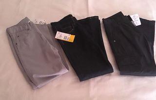 Lote pantalones niño 7/8 años nuevos
