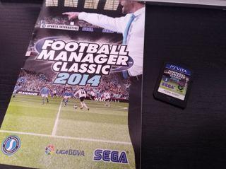 Football manager classic 2014 para ps vita