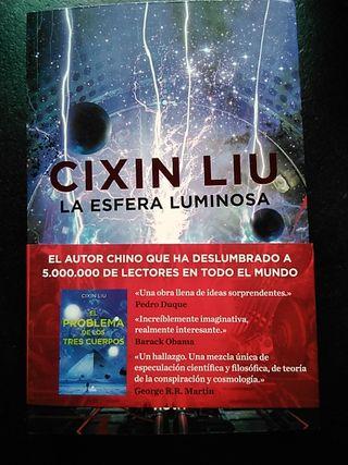 """Libro """"La esfera luminosa"""", de Cixin Liu"""