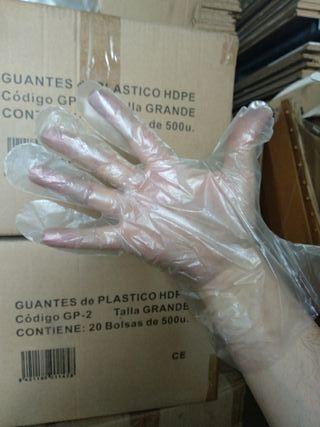 6 cajas Guantes desechables