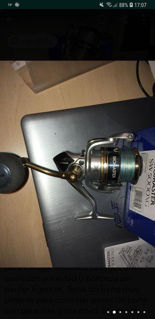 carrete shimano spinning biomaster sw5000