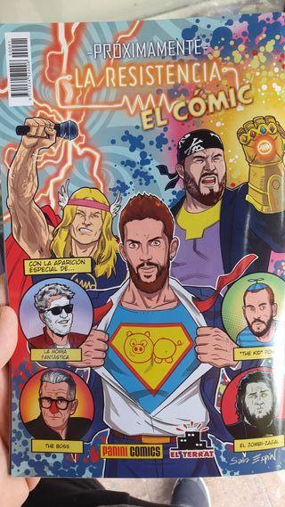 Comic edición coleccionista la resistencia