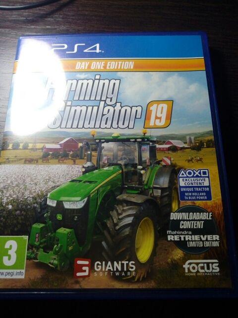 farming simulator19 ps4