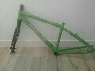 cuadro de bicicleta Cannondale