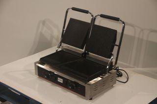 Grill doble eléctrico 58x40x21 cm