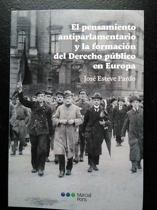 """Libro """"El pensamiento antiparlamentario y la f..."""""""