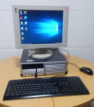 PC HP Windows 10 completo con WiFi
