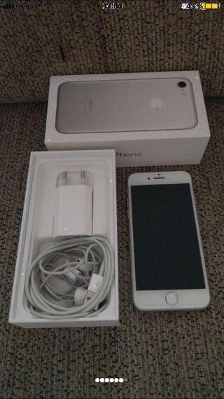 Iphone 7 32g plateado