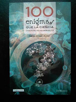 """Libro """"100 enigmas que la ciencia (todavía) no..."""""""
