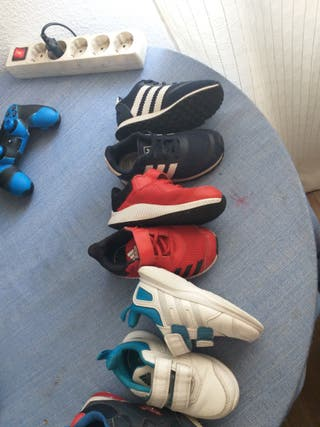 lote zapatos adidas niños