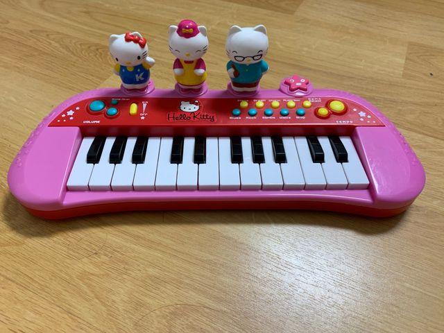 Órgano musical Hello Kitty