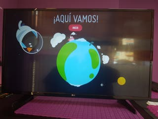 Television LG 43 pulgadas SMART TV WIFI