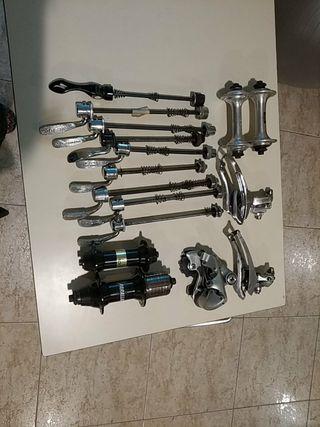 Componentes bicicletas antiguas
