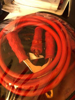 Cables auxiliares de mucho amperaje nuevos