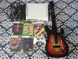 Xbox 360 + juegos