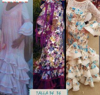 trajes de flamenca talla 34 36