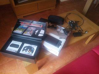 Nintendo switch con juegos y mandos