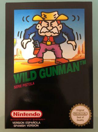 Juego Wild Gunman Nintendo NES NUEVO