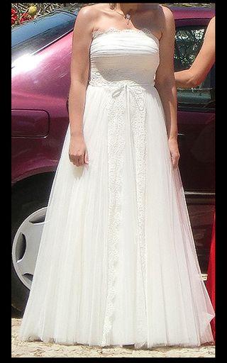 cf1c4c34b Vestido de novia Rosa Clara de segunda mano en Valencia en WALLAPOP