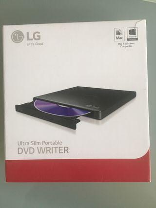 Grabadora LG DVD porta le ultraslim