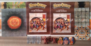 Heroquest Contra la Horda de Ogros (restos)
