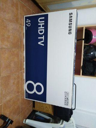 SANSUNG UHD TV 49 8SERIES NU8000CLAS