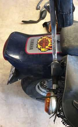 GUARDABARROS TRAS YAMAHA DRAG STAR 650