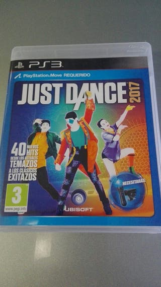 JUEGO JUST DANCE 2017. PS3