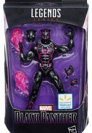 Marvel Legends black panther exclusiva