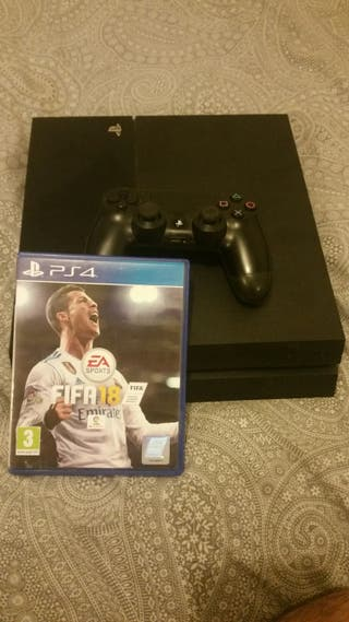 vendo ps4 de 500gb.