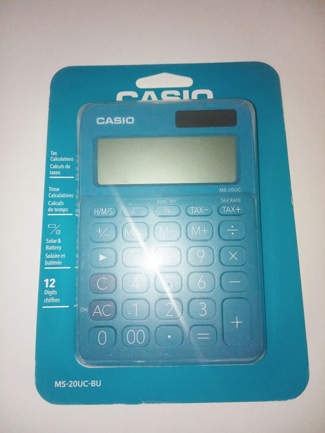 CASIO calculadora científica