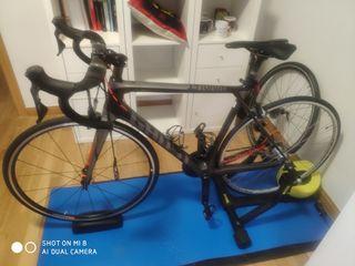 Bicicleta carretera Ghost Nivolet 6.8 y Bkool y ++