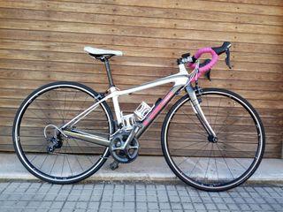 Bicicleta carretera de mujer