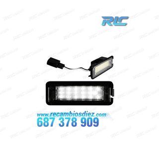 Luces de matrícula LED Volkswagen EOS (2007-2014)